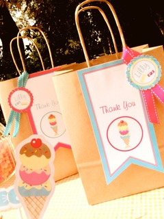 vintage ice cream and candy party2