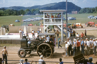 Gays Mills - Old Rumely Tractor at Crawford County Fair