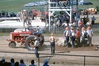 Gays Mills - Tractor Pull at Crawford County Fair
