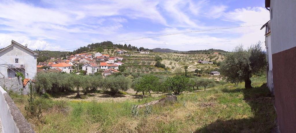 Panorama - Vale das Fontes, as seen from Rua dos Enxertos by Frans Harren