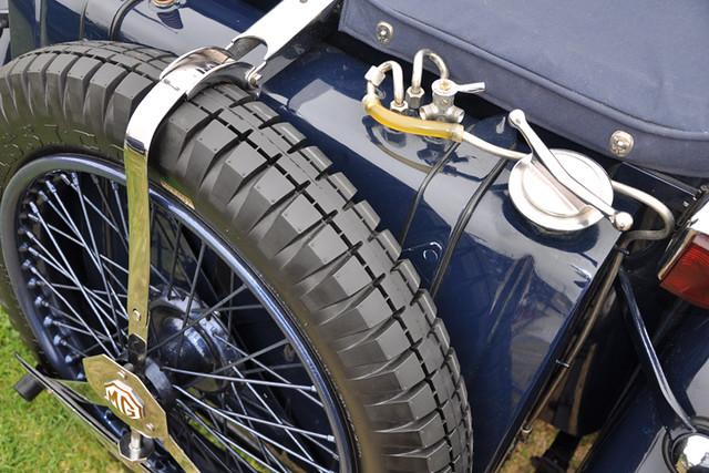 MG fuel line