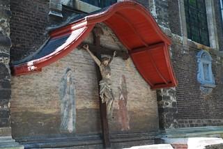 Detail 'Klein begijnhof' Gent