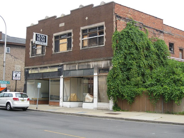 Niagara Falls NY ~ Upper Main St. ~ Commercial Block
