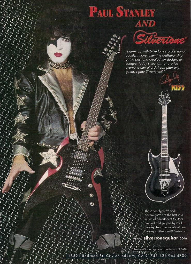 dating Silvertone kitarat joka on Ghostface dating nyt