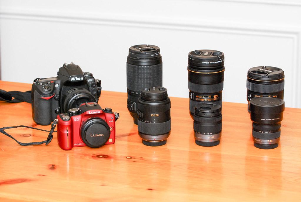 Comparison Of A Panasonic Lumix Dmc G2 Kit With My Nikon K Flickr