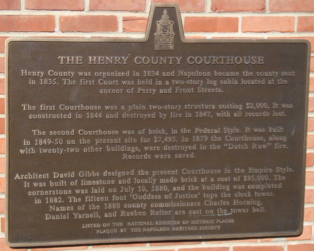 henry county ohio public criminal records