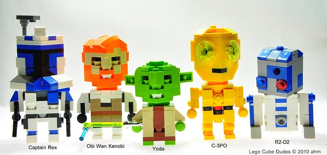 Star Wars Lego Cube Dudes