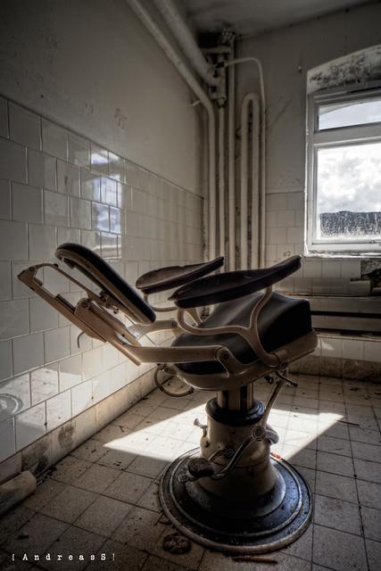 Basement dentist chair