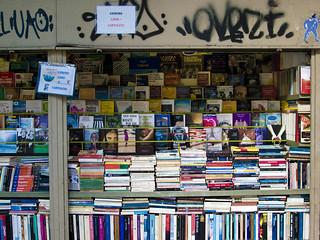 Milan book stall | by weldonwk