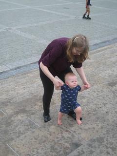 Eleanor Does the Rocky Steps | by schaffj