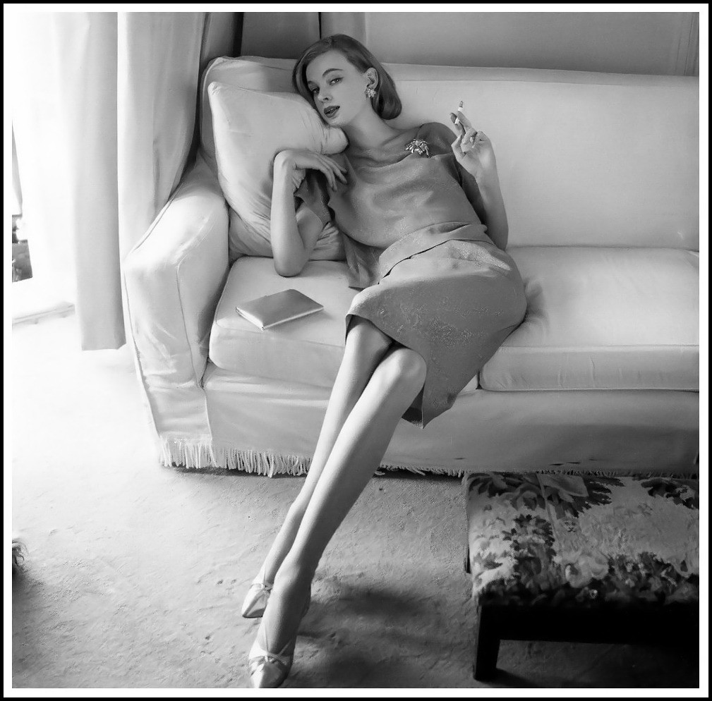 Images From Vogue Magazine Nena von Schlebrugge Uma Thurman Mother 1961