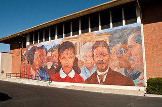 mural on the superior court building | by tombothetominator