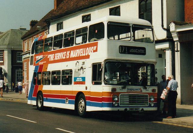 916, HBD 916T, Bristol VRT, ECW Body, 1979 (United Counties)