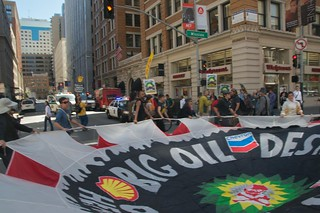 Make Big Oil Pay march to Chevron, EPA & BP 337