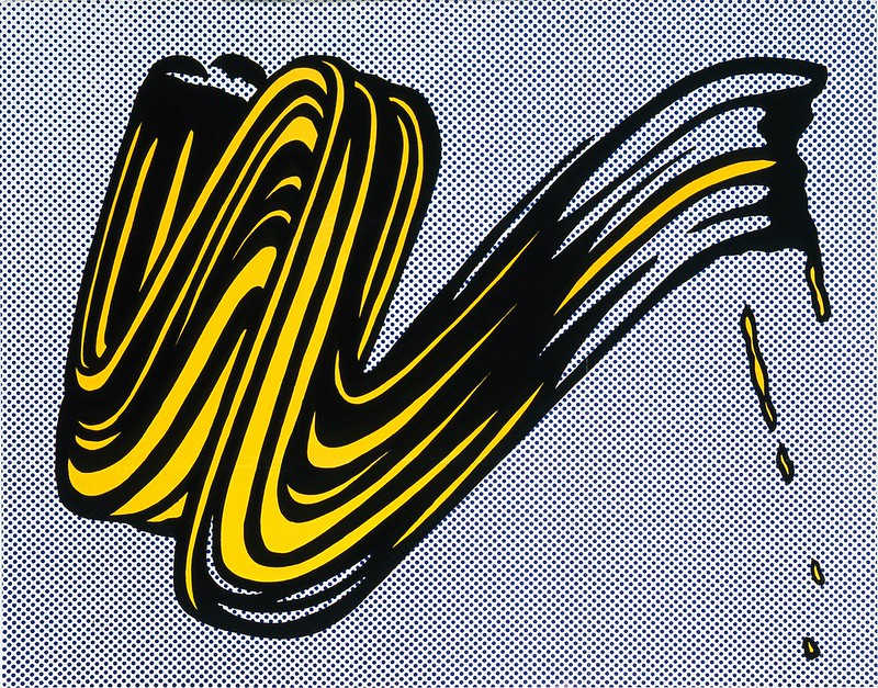 Roy Lichtenstein, Pincelada, 1965