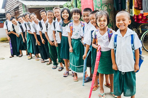 Myanmar: 130 orphans age 3-18 successfully enrolled in new school year; new preschool begins second year of operation; case study of rescued 2-year-old orphan girl | by Peace Gospel