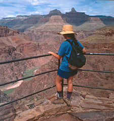 460 Bright Angel Trail - Grand Canyon - Plateau Point View