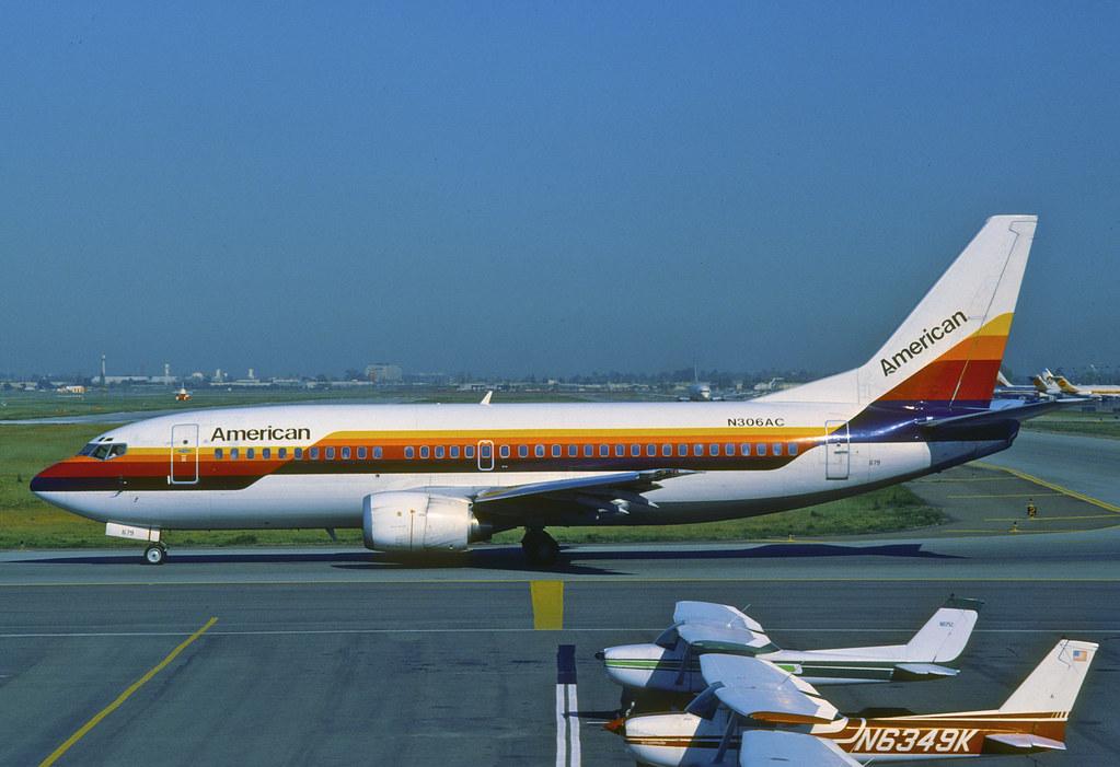 American Airlines Boeing 737-300
