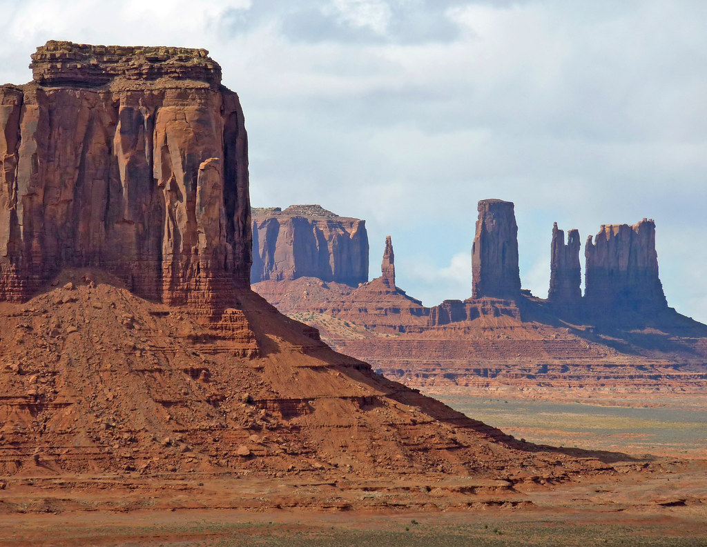 The classic splendor of Monument Valley, Arizona
