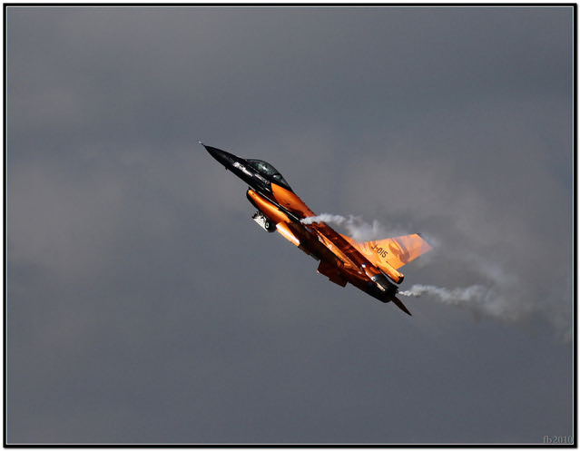 F-16 in action