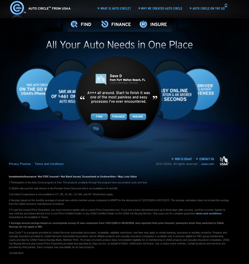 Usaa Contact Us >> Auto Circle From Usaa Find Finance Insure Usaa Flickr