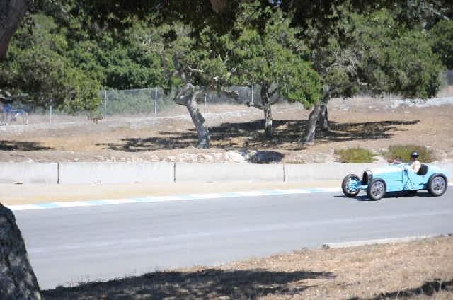 Bugatti-pace lap