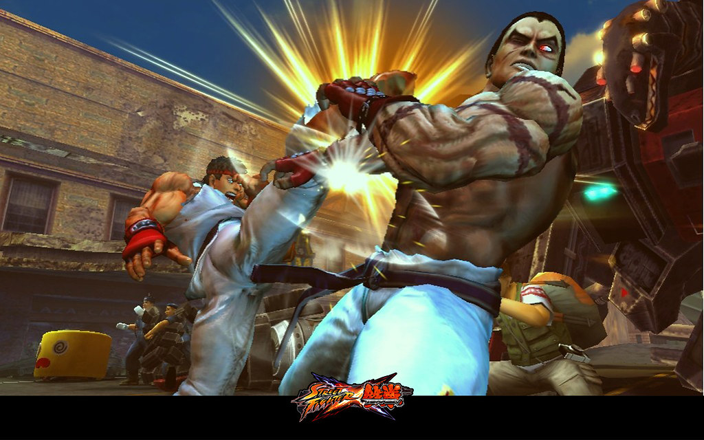 Street Fighter X Tekken Desktop Wallpaper Ryan Paul Thomps Flickr