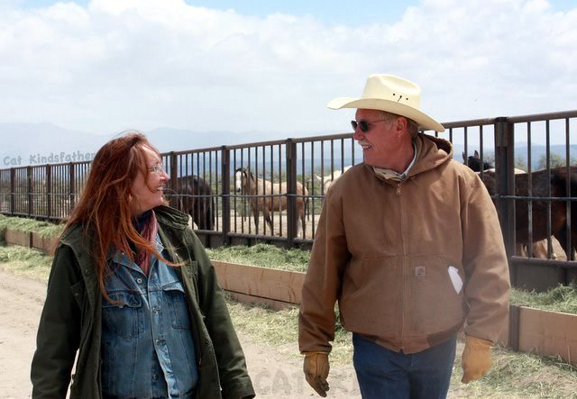 Advocates working with BLM.  Laura Leigh and Dean Bolstad @ Broken Arrow