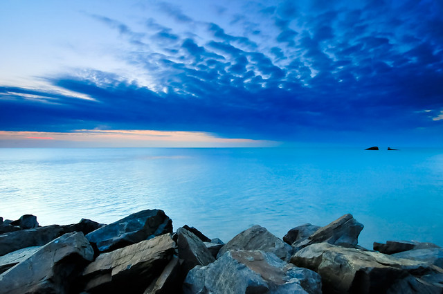 Blue Sunset - Cape May Point NJ