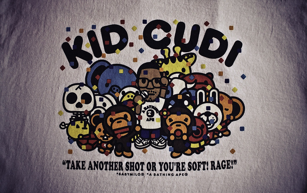 Bape Kid Cudi Wallpaper Party Tee Made A Picture From My S