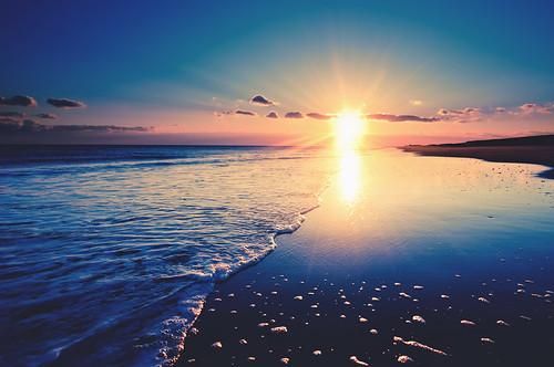 ocean winter sunset water nikon sigma fisheye 15mm d300