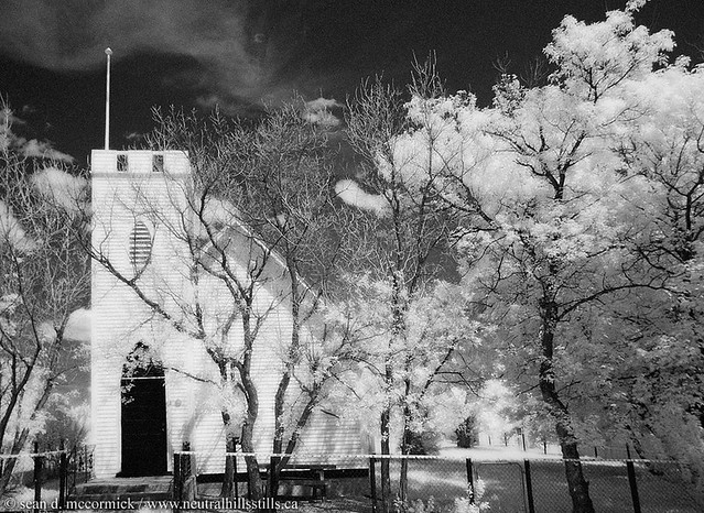 St. Laurence Church in Infrared, Monitor, Alberta [2 of 3]