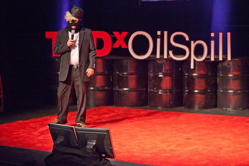 Terry from @BPGlobalPR - TEDx Oil Spill - Washington, DC