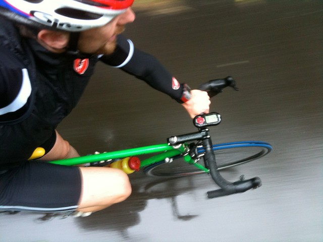 Day 336: Training in the rain with a smile
