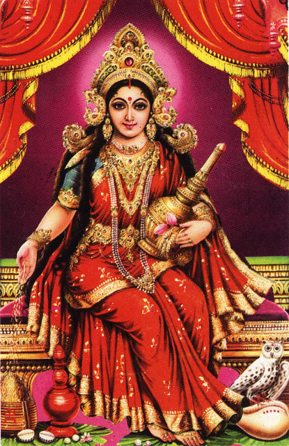 The Powerful 54 Name-Mantra of Goddess Lakshmi 1-3