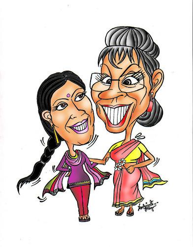 saas bahu in love   by Daljeet Mayn