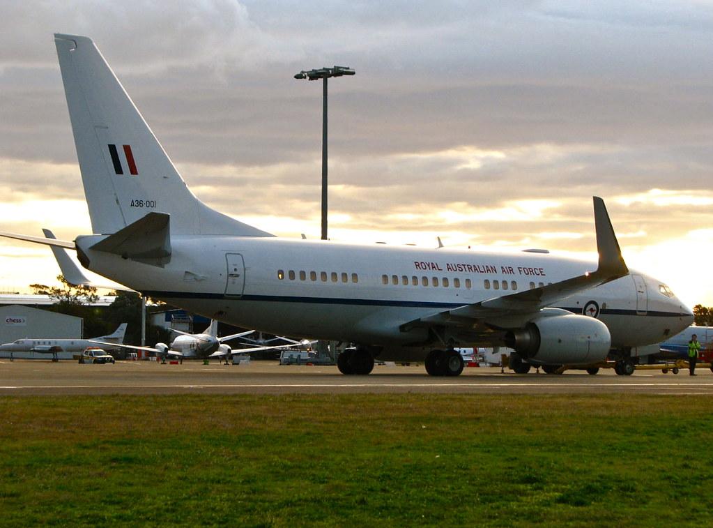 RAAF 34 Squadron VIP Boeing 737 BBJ A36-001 | JUBES747 | Flickr