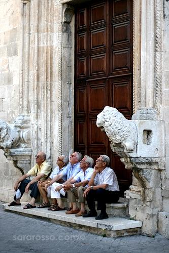 Older Gentlemen Watching...in Puglia | by MsAdventuresinItaly