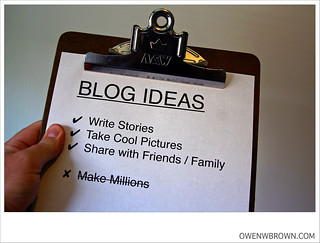 BLOG IDEAS | by owenwbrown