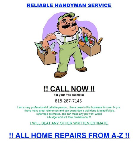 HandyMan Serivce Repair Los Angeles | by smwucf