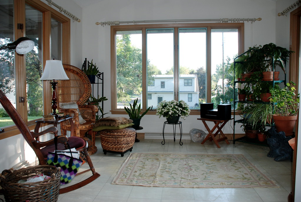 Provisional Sunroom | Current couch will go against back ...