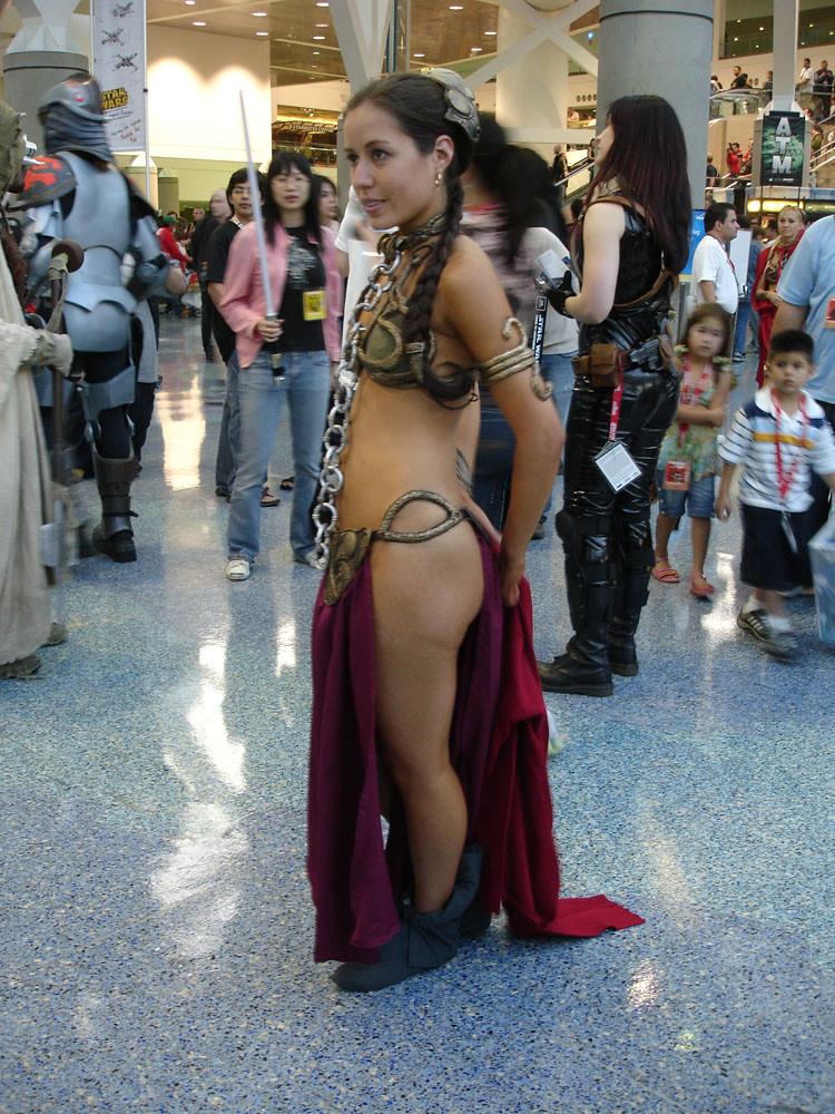Star Wars Celebration Iv - Slave Leia Fan Costume  The -4896