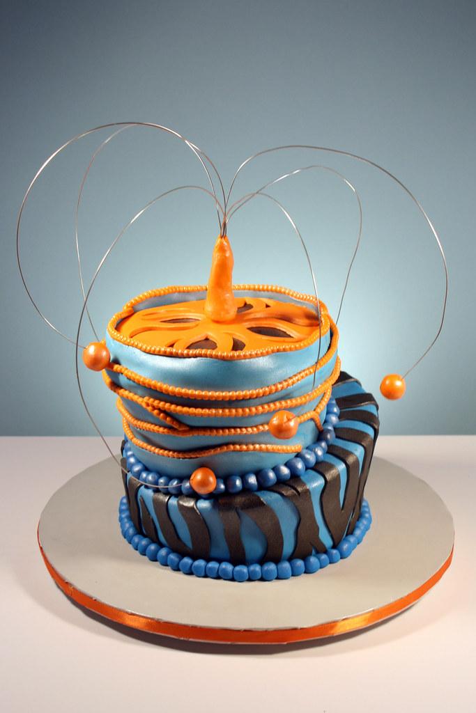 Cool 13 Year Old Birthday Cake Marble Cake Vanilla Buttercream Flickr Funny Birthday Cards Online Alyptdamsfinfo