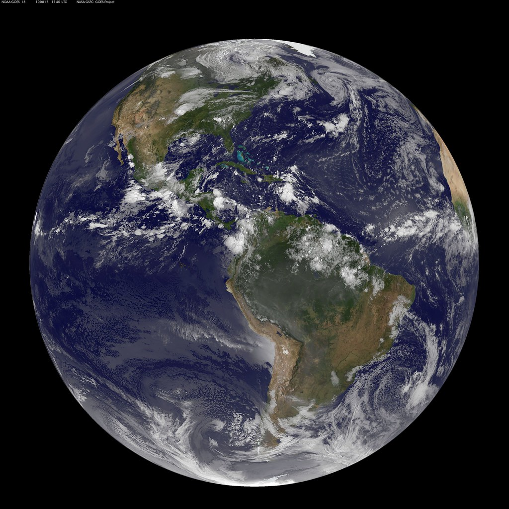 Nasa Goes 13 Full Disk View Of Earth Captured August 17 2