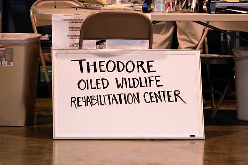 Theodore Oiled Wildlife Rehabilitation Center