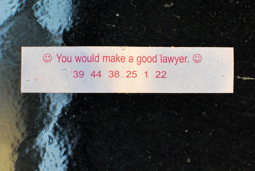 Lawyer Fortune Cookie   by slgckgc