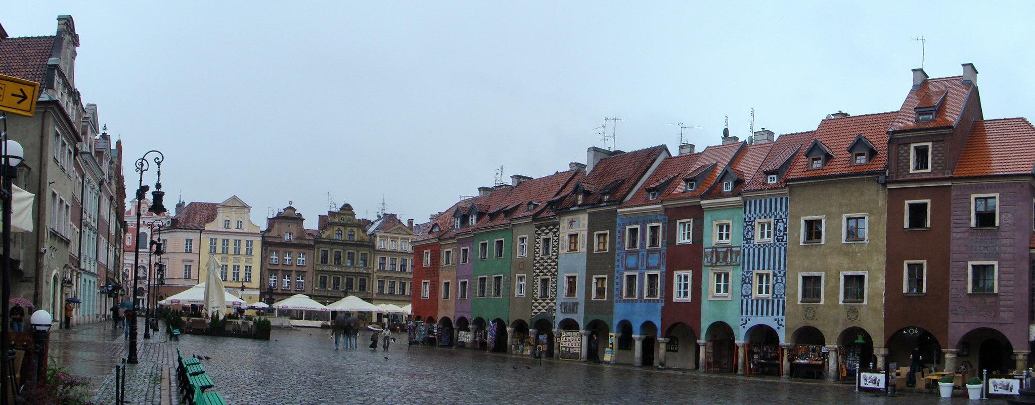 Plaza Mayor Poznan Polonia