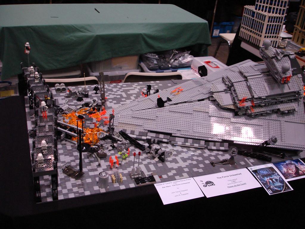 Crashed Lego Star Destroyer From The Force Unleashed Flickr