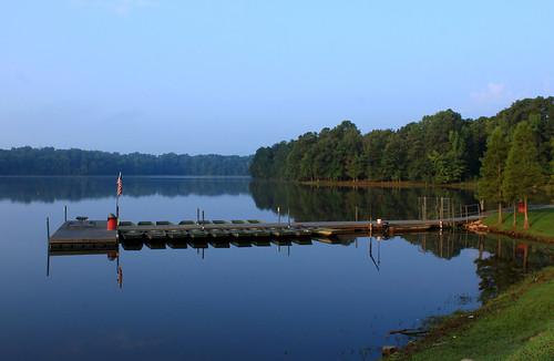 morning lake water sunrise canon dock quiet desiree garner stover lakebenson t1i desireestover