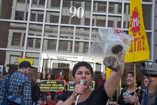 Make Big Oil Pay march to Chevron, EPA & BP 380